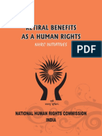 Retiral Benefits as a Human Rigts NHRC Initatives_2014