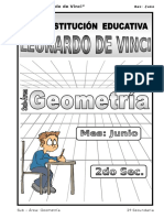 3. Junio – Geometría - 2do
