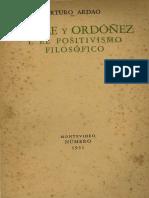 Batlle y Ordonez y el positivismo filosofico.pdf