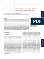 Air and Air Contaminant Flows in Office Cubicles With and Without Personal Ventilation a CFD Modeling and Simulation Study