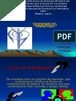 Transformacic3b3n Del Lenguaje Natural Al Lenguaje Lc3b3gico