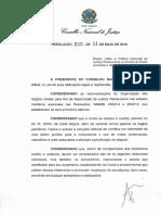 CNJ - Res. 225-2016 - Justiça Restaurativa