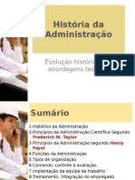 Relações Humanas no Trabalho - História Da Administração