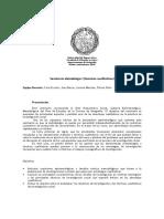 Seminario Metodología I (Tecnicas Cualitativas) 2016