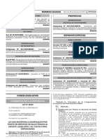 Ley que incorpora la bonificación por puesto en servicios de salud pública al Decreto Legislativo 1153 y dicta otras disposiciones