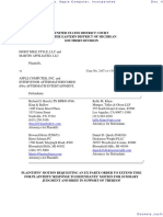 Eight Mile Style, LLC et al v. Apple Computer, Incorporated - Document No. 41