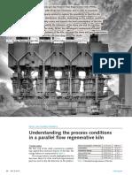 Understanding the Process Conditions in a Parallel Flow Regenerative Kiln
