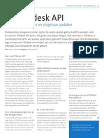 DE TOPdesk API en RES