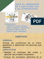 Pruebas de Compresión en Los Cilindros de Combustión