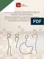CNMP - Guia Pessoa Com Deficiência 2016