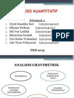 Pkb15 Kel.2.Analisis Kuantitatif