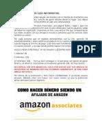 Gana Dólares en Amazon