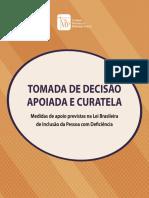 CNMP - Decisão Apoiada e Curatela - 2016