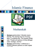 Fi Qh of Islamic Finance