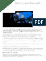 Como endurecimento das leis criou 'corrupção sofisticada' nos EUA - BBC Brasil