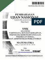 Pembahasan Soal UN Matematika SMK PSP 2013 Paket 1.pdf