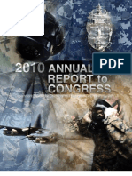 Chemical and Biological Defense Programme Report to Congress 2010