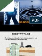 4- Log Resistivitas