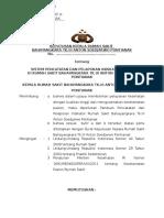 SK & PANDUAN SISTEM PENCATATAN & PELAPORAN INDIKATOR MUTU (ANALISA & VALIDASI DATA).docx