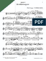 Arabesque HedvigeChretiene Flute