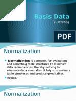 02. Basis Data - Normalization