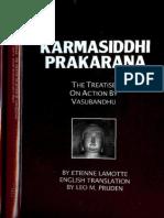 Vasubandhu-Karmasiddhi Prakarana-Treatise on Action