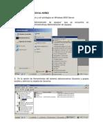 Como Crear Usuarios en Windows 2003 Server