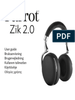 MANUAL Zik 2 Quick Start Guide UK