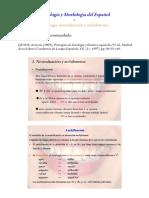 Fonología. Neutralización y Archifonema