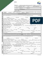 Formulario Solicitud Única de Crédito - Fondo Nacional del AHORRO