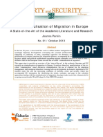 Criminalisation of Migration in Europe J Parkin FIDUCIA Final