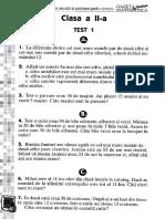 Culegere Gazeta Matematica Junior Clasa 2