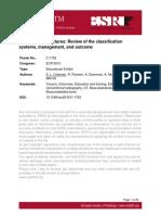 Tibial Plateau Fracture Classification