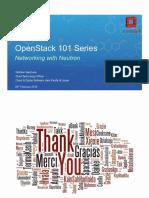 Cisco OpenStack 101 Understanding Openstack Neutron Networking Feb 25