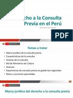Consulta Previa - Regiones
