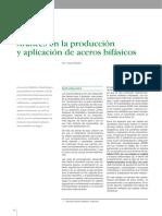 Avances en la producción y aplicación de aceros bifásicos.pdf