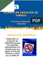 Clinica Cesacion de Tabaco