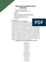 Determinacion de Gelatinizacion de Almidones