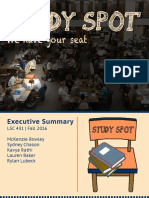 study spot executive summary