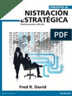 Conceptos de Administracion Estrategica (14a Ed) - David, Fred R