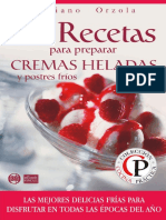 84 Recetas Para Prepara Cremas Heladas