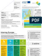 INTERREG EUROPE Leaflet