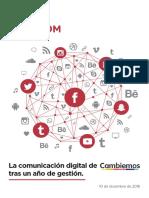 Labcom - La comunicación digital de Cambiemos tras un año de gestión