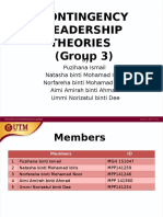 Group 3_Contigency Model Theories Presentation