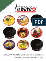 NuWave PIC2 Manual Complete Cookbook