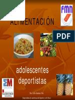 Alimentacion en Adolescentes Deportistas