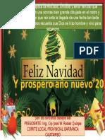 Tarjeta Navideño 2016
