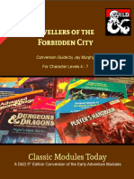 Classic Modules Today - I1 Dwellers of the Forbidden City