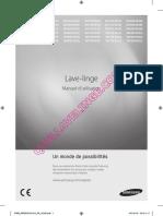 Samsung Wf80f5e5u4w Lave Linge Notice 2296