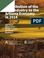 az golf economic contribution 2014-2